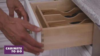 Cabinets To Go White Cabinet Sale TV Spot, 'Custom Kitchen' - Thumbnail 3
