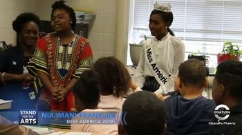 Stand for the Arts TV Spot, 'Ovation: Miss America Master Classes' Featuring Nia Imani Franklin