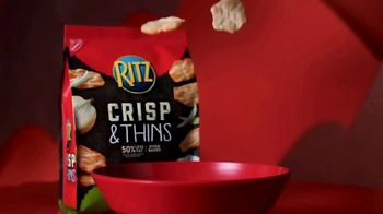 Ritz Crackers Crisp & Thins TV Spot, 'Make Gameday Rich' - Thumbnail 1
