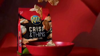 Ritz Crackers Crisp & Thins TV Spot, 'Make Gameday Rich' - Thumbnail 2