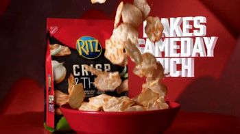 Ritz Crackers Crisp & Thins TV Spot, 'Make Gameday Rich' - Thumbnail 6