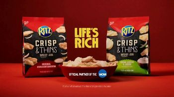 Ritz Crackers Crisp & Thins TV Spot, 'Make Gameday Rich' - Thumbnail 9