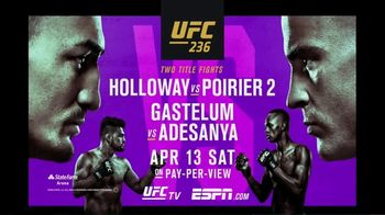 UFC 236 TV Spot, 'Holloway vs. Poirier' - Thumbnail 10