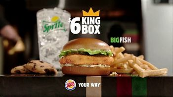 Burger King $6 King Box TV Spot, 'Now With the Big Fish' - Thumbnail 10