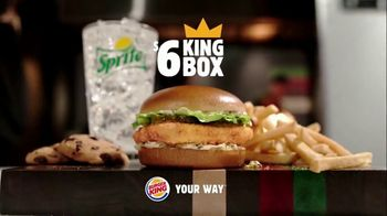 Burger King $6 King Box TV Spot, 'Now With the Big Fish' - Thumbnail 9