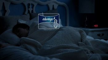 Always Overnight Pads TV Spot, 'Well Rested' - Thumbnail 3
