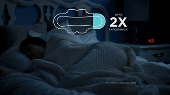 Always Overnight Pads TV Spot, 'Well Rested' - Thumbnail 4