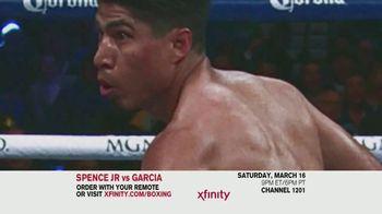 XFINITY TV Spot, 'World Welterweight Championship: Spence Jr. vs. Garcia' - Thumbnail 2