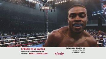 XFINITY TV Spot, 'World Welterweight Championship: Spence Jr. vs. Garcia' - Thumbnail 5