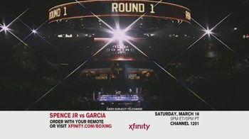 XFINITY TV Spot, 'World Welterweight Championship: Spence Jr. vs. Garcia' - Thumbnail 6