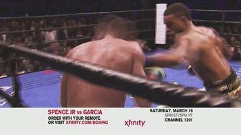 XFINITY TV Spot, 'World Welterweight Championship: Spence Jr. vs. Garcia' - Thumbnail 7