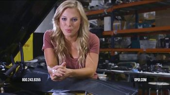 OPGI Original Parts Group Inc TV Spot, 'You're Covered' Featuring Cristy Lee