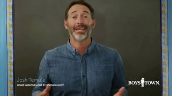 Boys Town TV Spot, 'Parenting Isn't Easy: Tips & Tricks' Featuring Josh Temple - Thumbnail 3