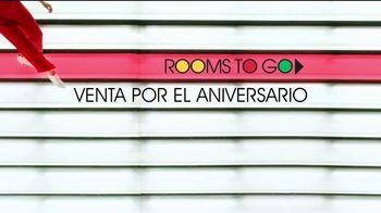 Rooms to Go Venta por el Aniversario TV Spot, 'Sin interés hasta marzo del 2024' canción de Portugal. The Man[Spanish] - Thumbnail 1