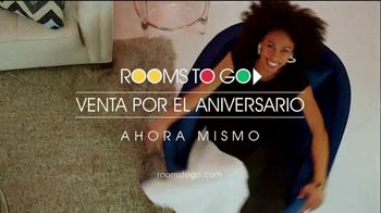 Rooms to Go Venta por el Aniversario TV Spot, 'Sin interés hasta marzo del 2024' canción de Portugal. The Man[Spanish] - Thumbnail 10