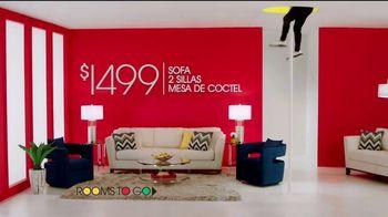 Rooms to Go Venta por el Aniversario TV Spot, 'Sin interés hasta marzo del 2024' canción de Portugal. The Man[Spanish] - Thumbnail 7