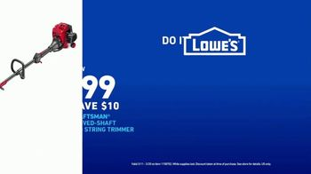 Lowe's TV Spot, 'Do It Wright Playbook: Trimmer' Featuring Jay Wright - Thumbnail 9