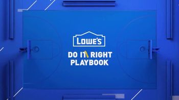 Lowe's TV Spot, 'Do It Wright Playbook: Trimmer' Featuring Jay Wright - Thumbnail 1