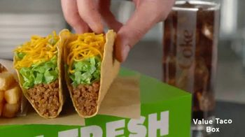 Del Taco Fresh Faves TV Spot, 'What a Box' - Thumbnail 2
