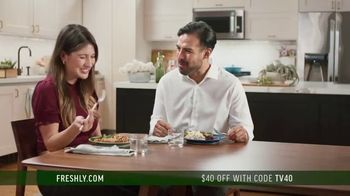 Freshly TV Spot, 'Chef Cooked Meals' - Thumbnail 2
