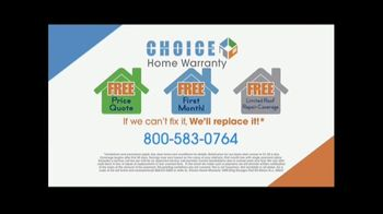 Choice Home Warranty TV Spot, 'Boxing Match' Featuring George Foreman - Thumbnail 10