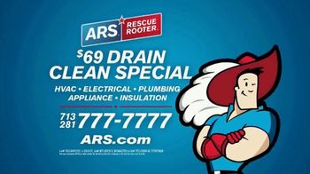 ARS Rescue Rooter $69 Drain Clean Special TV Spot, 'Clogged Toilet: Special' - Thumbnail 8