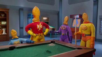 Goldfish Epic Crunch Nacho TV Spot, 'Billiards'