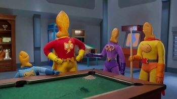 Goldfish Epic Crunch Nacho TV Spot, 'Billiards'