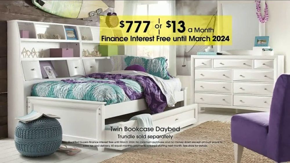 Rooms To Go Kids Teens Anniversary Sale Tv Commercial Twin Bookcase Your Choice Video