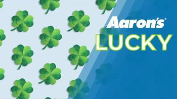 Aaron's Lucky Days TV Spot, 'Luck is On Your Side' - Thumbnail 1
