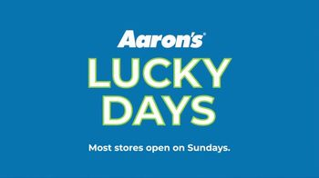 Aaron's Lucky Days TV Spot, 'Luck is On Your Side' - Thumbnail 10