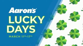 Aaron's Lucky Days TV Spot, 'Luck is On Your Side' - Thumbnail 2