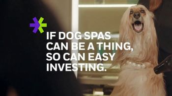 E*TRADE Prebuilt Mutual Fund Portfolios TV Spot, 'Doggie Spa Day' - Thumbnail 2