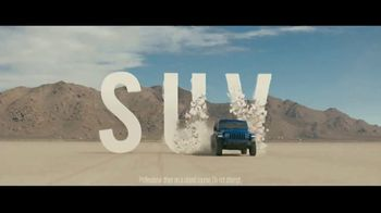 Jeep TV Spot, 'SUV Letters Earned' Song by The Kills [T1]