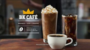 Burger King BK Café TV Spot, 'The King Has Something Brewing' - Thumbnail 9