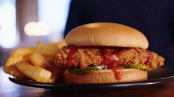 Zaxby's Zaxville Hot Filet Sandwich TV Spot, 'Shazam!: Taste of Nashville' - Thumbnail 1
