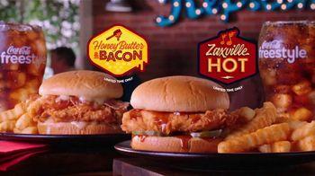 Zaxby's Zaxville Hot Filet Sandwich TV Spot, 'Shazam!: Taste of Nashville' - Thumbnail 8