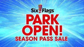 Six Flags Park Opening Season Pass Sale TV Spot, 'Wake Up: White Water'