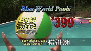 Blue World Pools TV Spot, 'Summer Party Paradise'