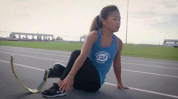 Challenged Athletes Foundation TV Spot, 'Olympian Allyson Felix Salutes Paralympian Scout Bassett' - Thumbnail 9