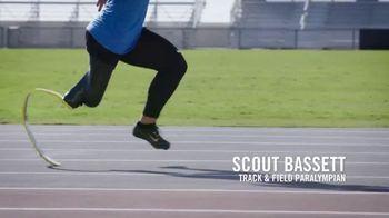 Challenged Athletes Foundation TV Spot, 'Olympian Allyson Felix Salutes Paralympian Scout Bassett' - Thumbnail 8