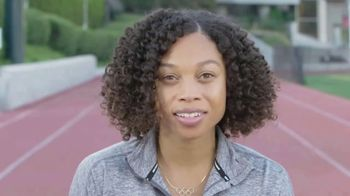 Challenged Athletes Foundation TV Spot, 'Olympian Allyson Felix Salutes Paralympian Scout Bassett'