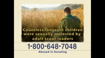 AVA Law Group, Inc TV Spot, 'Abused in Scouting' - Thumbnail 2