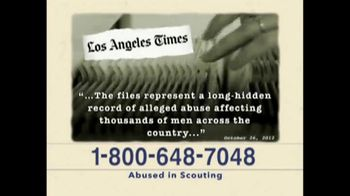 AVA Law Group, Inc TV Spot, 'Abused in Scouting' - Thumbnail 3