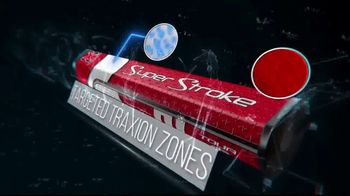 Super Stroke Traxion Series TV Spot, 'Targeted Traxion Zones'