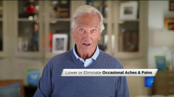 Relief Factor Quickstart TV Spot, 'Play Golf and Tennis' Featuring Pat Boone - 32 commercial airings