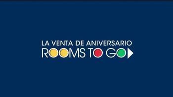 Rooms to Go Venta de Aniversario TV Spot, 'Seccional eléctrico' [Spanish] - Thumbnail 1