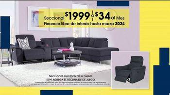 Rooms to Go Venta de Aniversario TV Spot, 'Seccional eléctrico' [Spanish] - Thumbnail 6