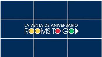 Rooms to Go Venta de Aniversario TV Spot, 'Seccional eléctrico' [Spanish] - Thumbnail 2