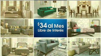 Rooms to Go Venta de Aniversario TV Spot, 'Seccional eléctrico' [Spanish] - Thumbnail 3